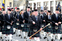 Remembrance Parade, Kirkwall, November 2013