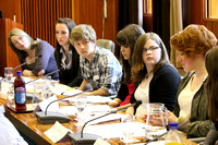 Youth Debate at Council Chamber Dec 2100