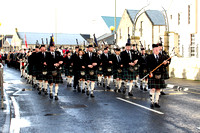 Remembrance parade 11th Nov 2012