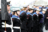 Sea Cadet parade 13 Oct 2013