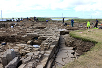 Ness of Brodgar archaeological dig